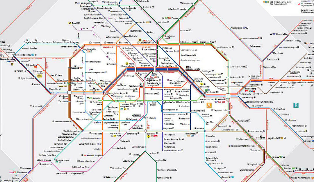 Die U-Bahn Karte