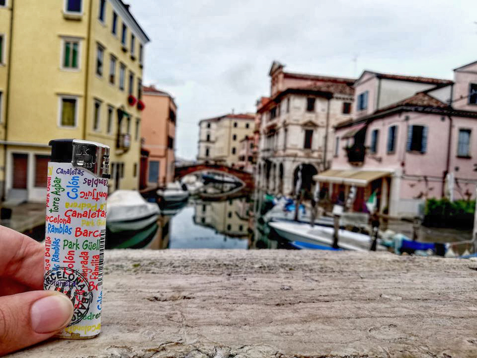 Wanderwave Postcards from Lighter Chioggia