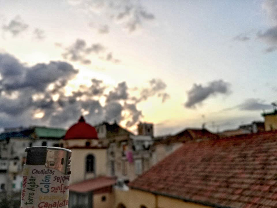 Wanderwave Postcards from Lighter Napoli Palazzi